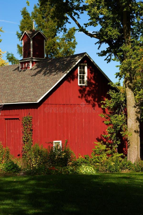 historycznej barn fotografia stock