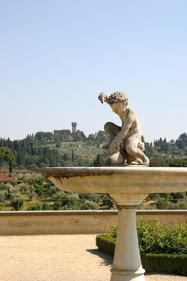 historycznej fontanna obraz stock