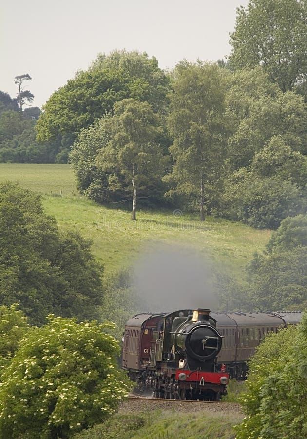 historycznej lokomotywy pary zdjęcie royalty free