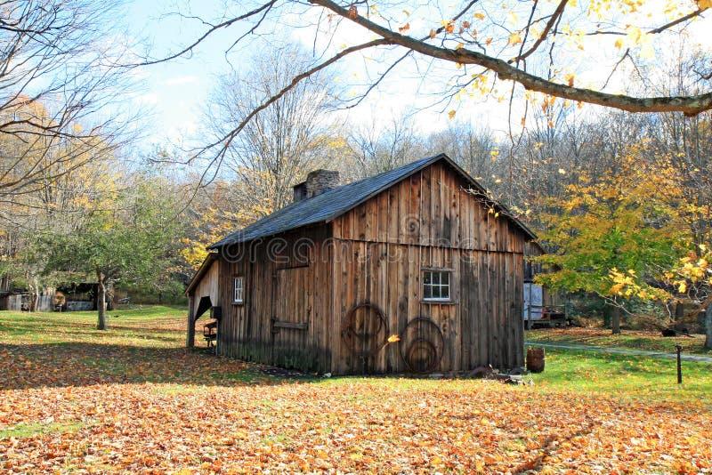 historycznej millbrook wioski fotografia stock