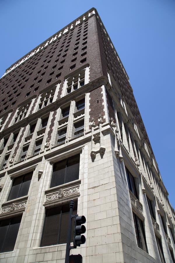 Historyczni budynki w śródmieściu miasto Kansas Missouri fotografia royalty free