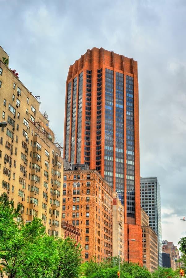Historyczni budynki w Manhattan, Miasto Nowy Jork obrazy royalty free