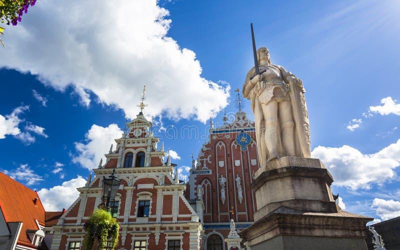 Historyczni budynki w Stary Ryskim obrazy stock