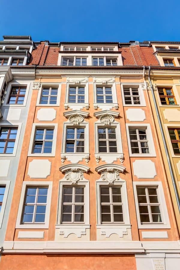 Historyczni buidlings w Drezdeńskim obraz stock