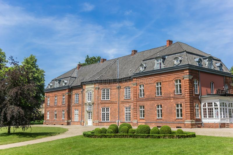 Historyczni książe dom i ogród w Plonie zdjęcia royalty free