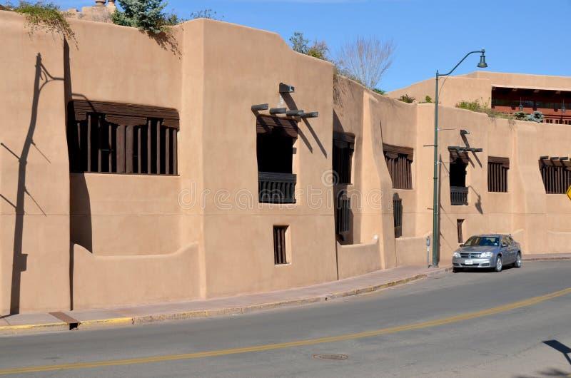 Historyczny adobe dom zdjęcie stock