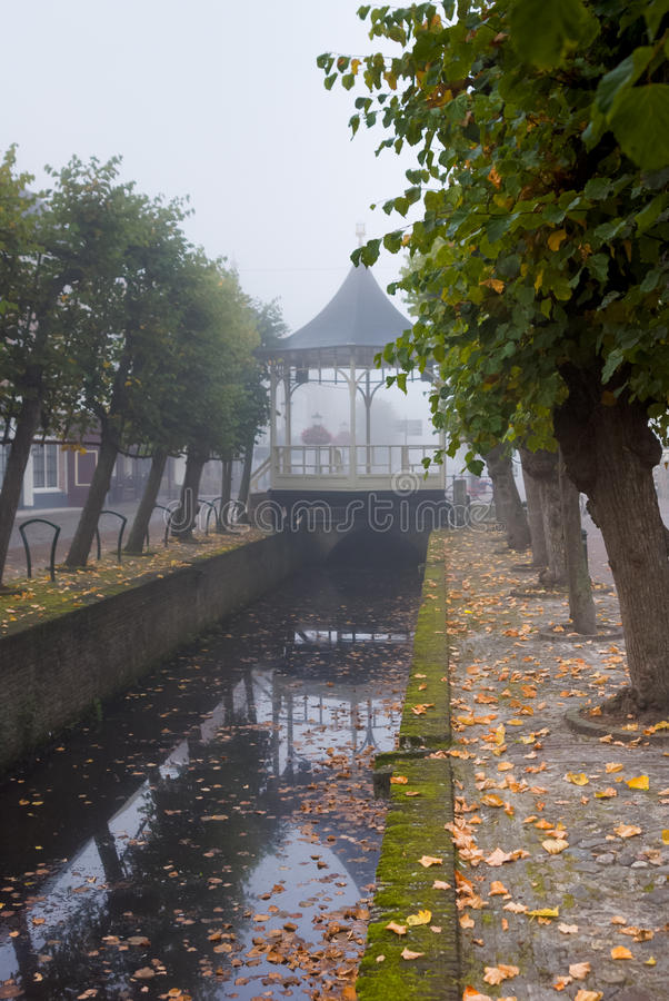 Historyczny bandstand fotografia royalty free