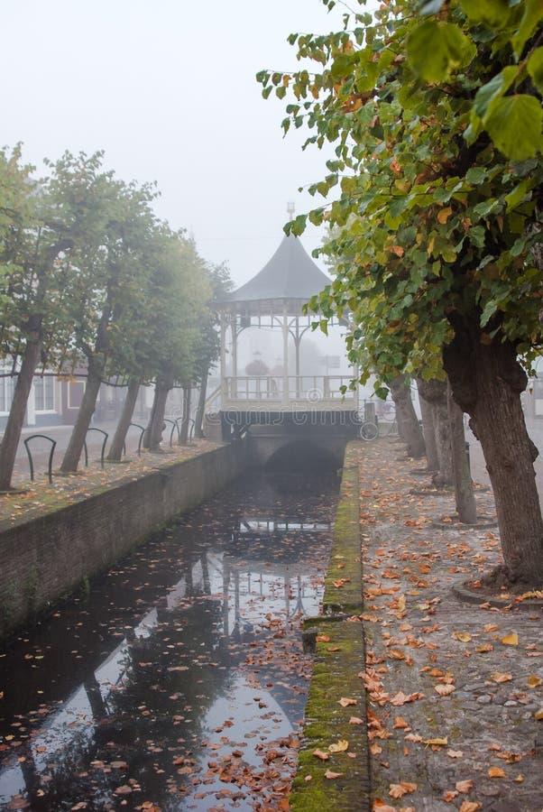 Historyczny bandstand przy miastem Elburg, zdjęcia stock