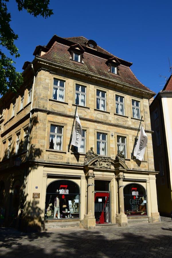 Download Historyczny Budynek W Bamberg, Niemcy Fotografia Editorial - Obraz złożonej z widok, historyczny: 57654292