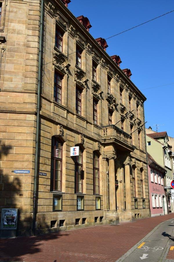 Download Historyczny Budynek W Bamberg, Niemcy Obraz Stock Editorial - Obraz złożonej z wierzch, region: 57654494