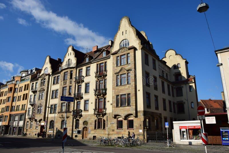 Download Historyczny Budynek W Bamberg, Niemcy Zdjęcie Stock Editorial - Obraz złożonej z okno, bavaria: 57660913