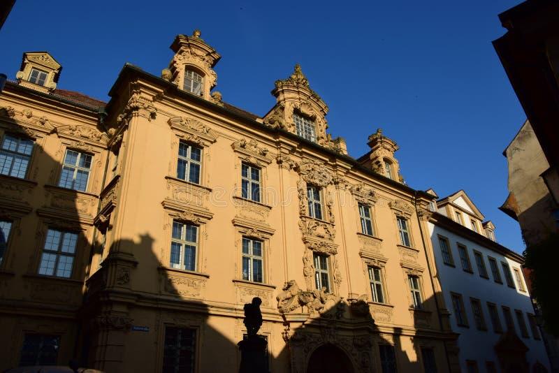 Download Historyczny Budynek W Bamberg, Niemcy Zdjęcie Stock Editorial - Obraz złożonej z nas, atrakcyjny: 57661343