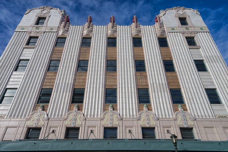 Historyczny budynek wyszczególnia San Antonio fotografia royalty free
