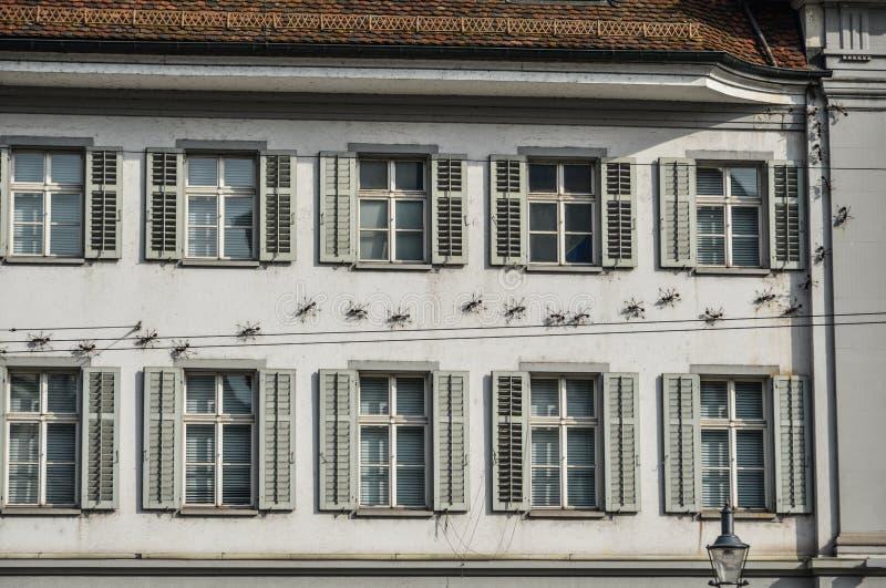 Historyczny centrum miasta lucerna, Szwajcaria fotografia royalty free