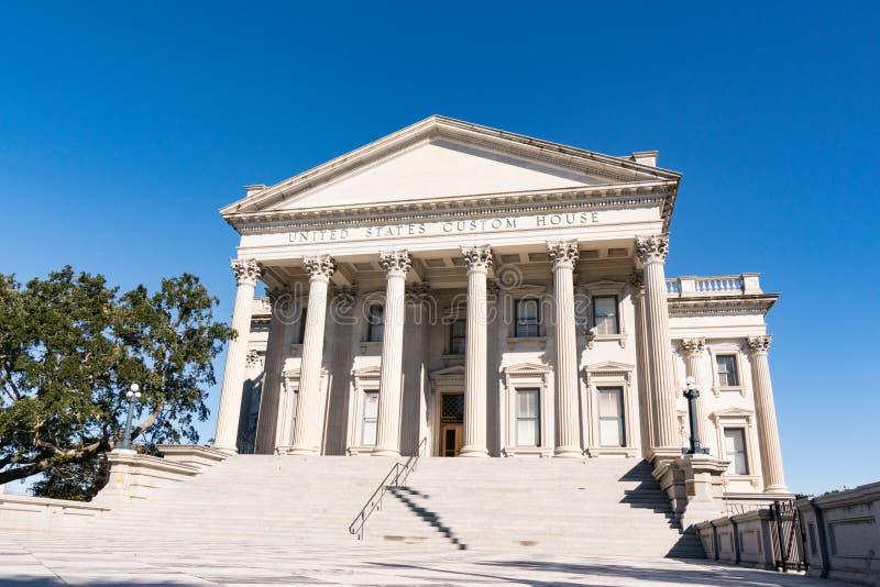 Historyczny Charleston zwyczajów dom zdjęcie stock