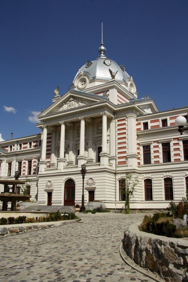Historyczny Coltea szpital w Bucharest (Rumunia) fotografia royalty free