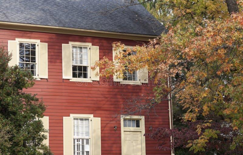 Historyczny dom w Frankfort fotografia stock