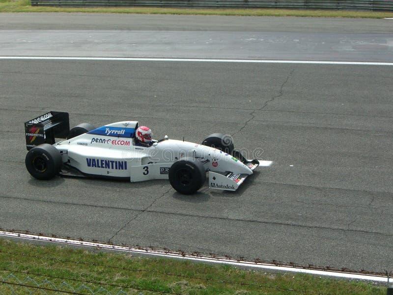 Historyczny F1 Tyrrel 022 Monza 2012 fotografia stock