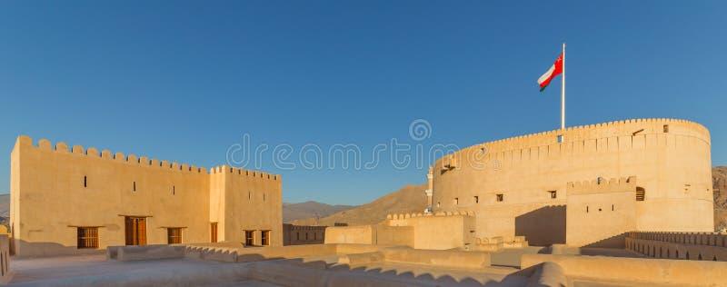 Historyczny fort Nizwa, w Oman obrazy royalty free