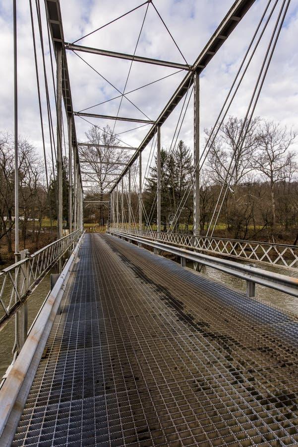 Historyczny Grimms most - Ohio obrazy royalty free