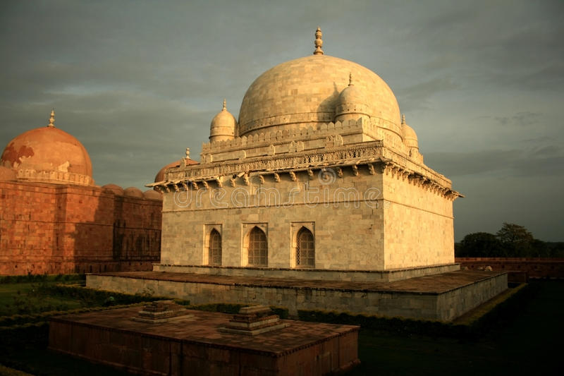 historyczny hoshang ind shah sułtanu grobowiec fotografia royalty free