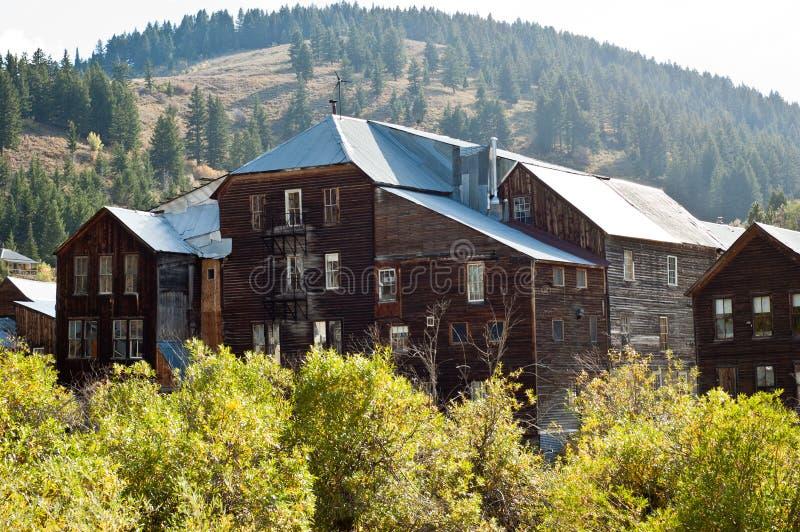 Historyczny Idaho miasta hotel fotografia stock