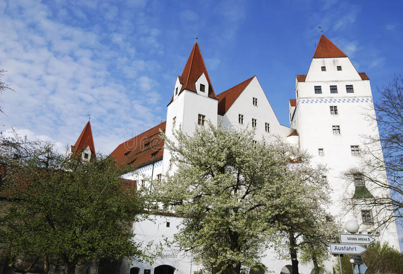 Historyczny Ingolstadt obraz royalty free