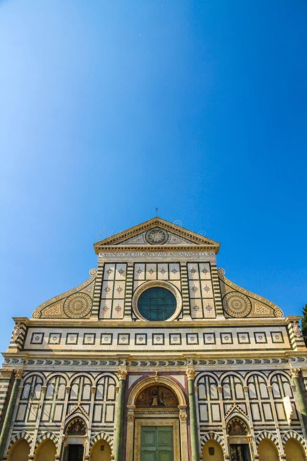 Historyczny kościół w Florencja, Włochy obrazy royalty free