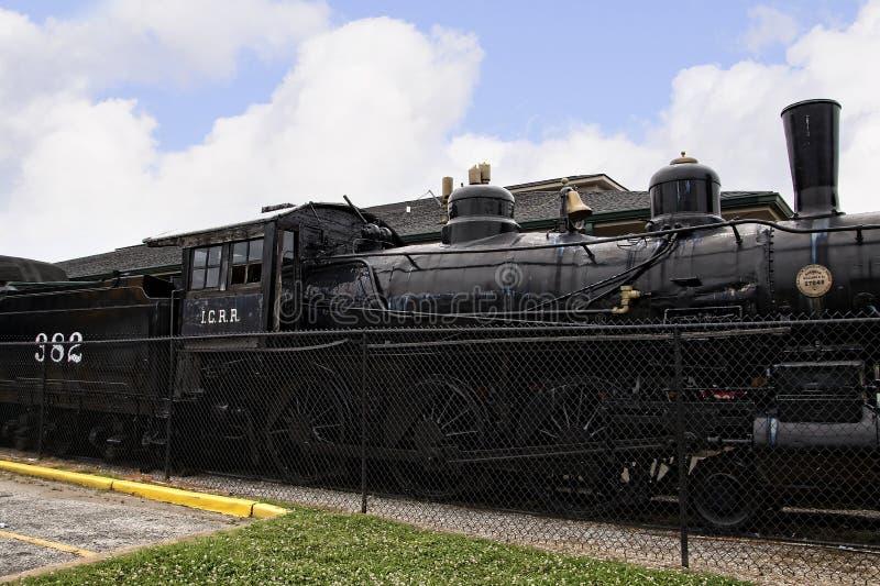 Historyczny linii kolejowej muzeum w Jackson &, Tennessee obraz royalty free