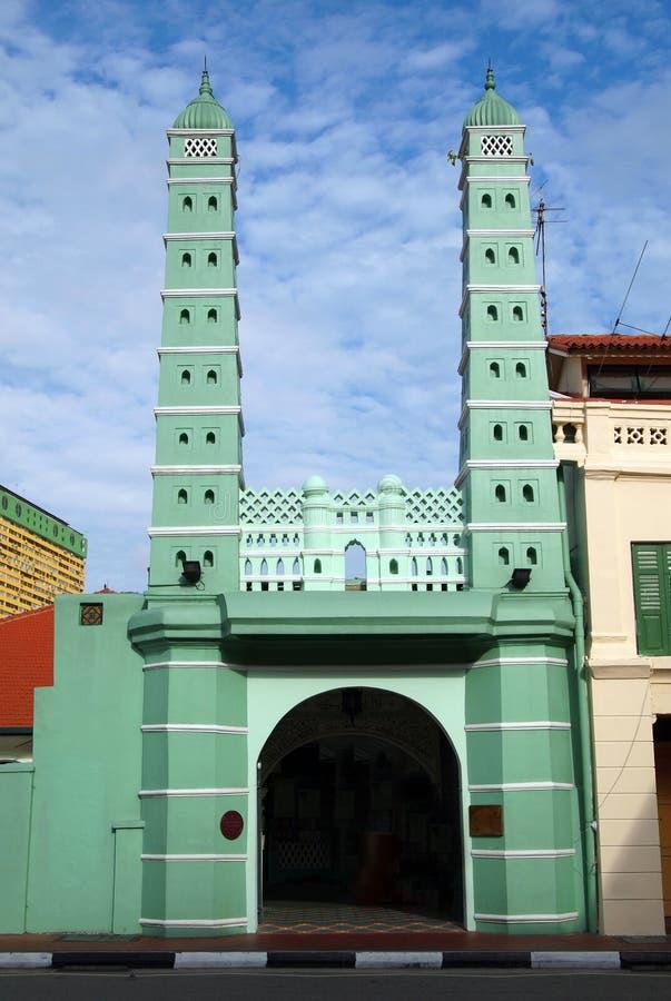historyczny meczetowy Singapore zdjęcie stock