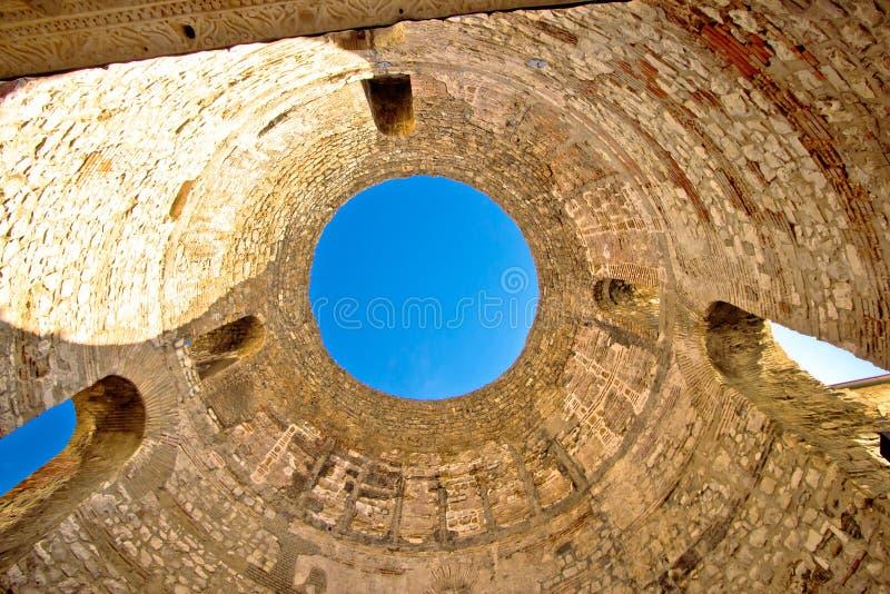 Historyczny miasto Rozszczepiony stary punkt zwrotny zdjęcie stock