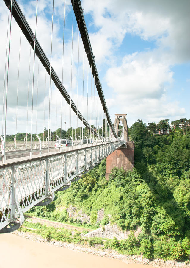 Historyczny most obraz stock