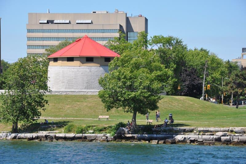 Historyczny nabrzeże Kingston, Ontario zdjęcia stock