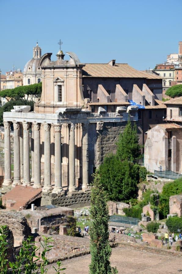Historyczny Romański forum obraz stock