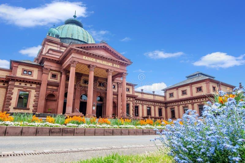 historyczny sławny Kaiser Wilhelms Zły w Złym Homburg Niemcy zdjęcie royalty free