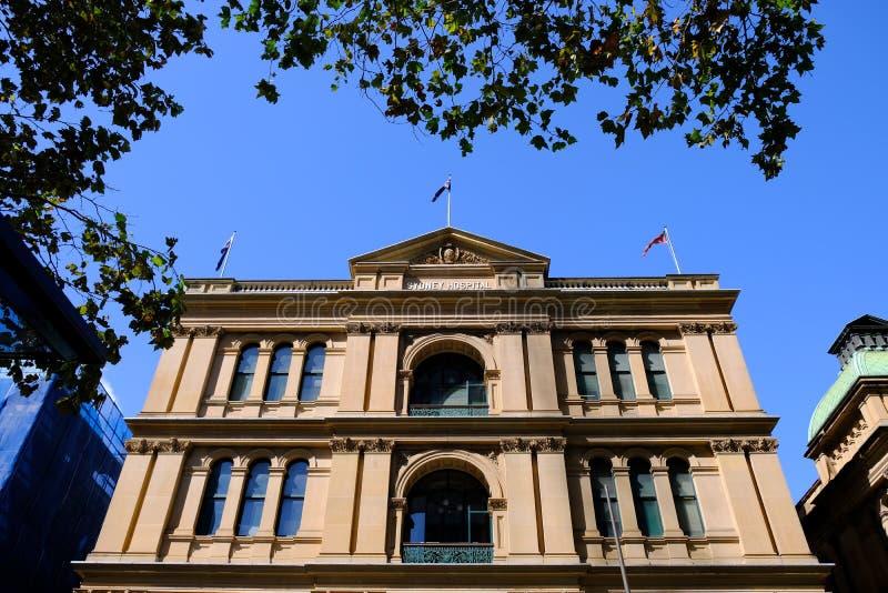 Historyczny Sydney szpital, NSW, Australia zdjęcia royalty free