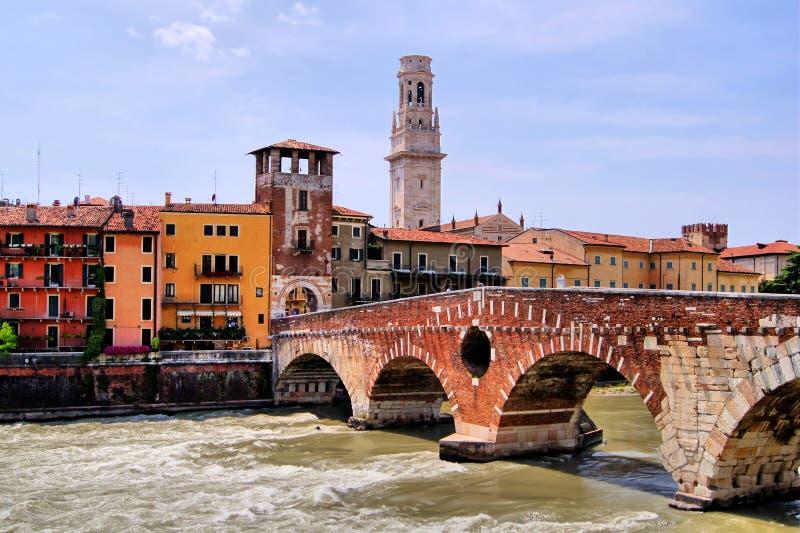 Historyczny Verona obraz royalty free