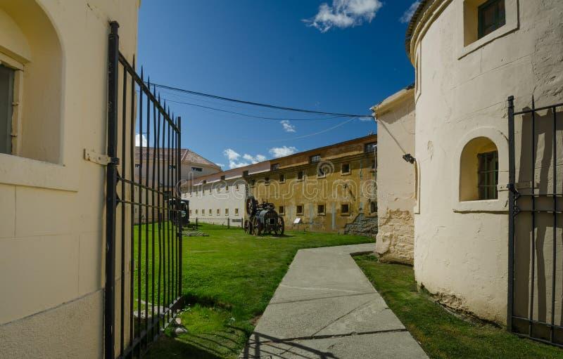 Historyczny więzienie Ushuaia, Argentyna zdjęcia royalty free