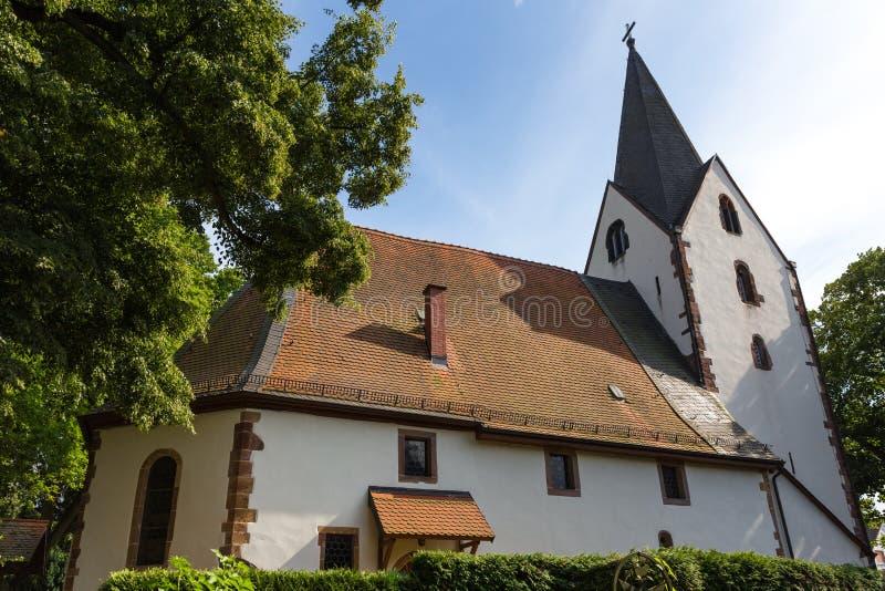 Historyczny zły vilbel Hesse Germany obraz stock