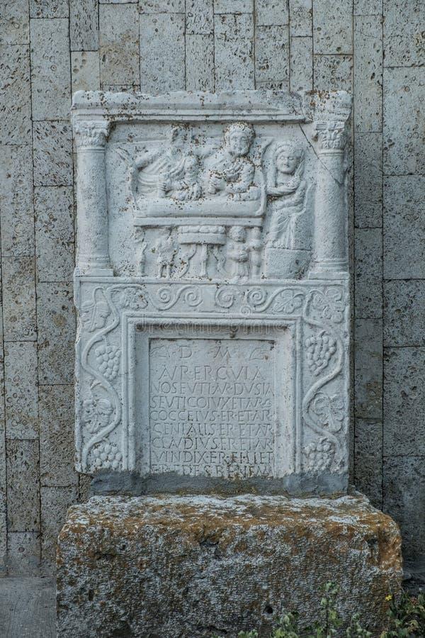 Histria, romania, Europa, escavações arqueológicos fotos de stock