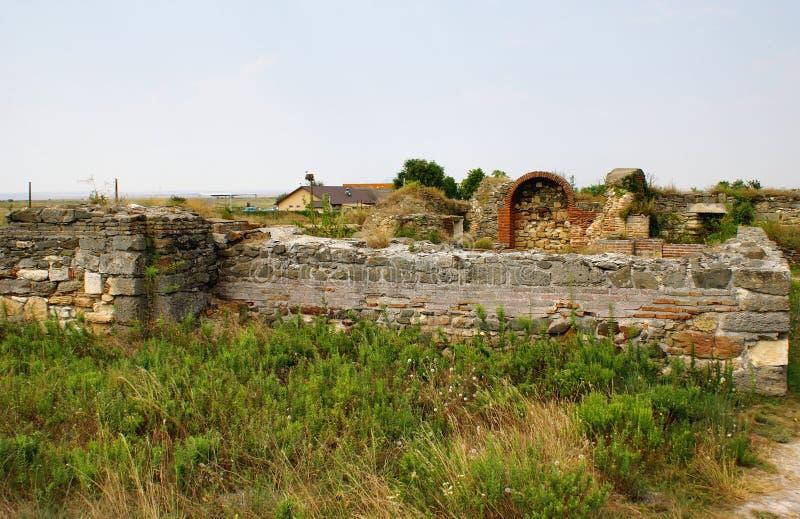 Download Histria, Ville Antique En Roumanie Image stock - Image du antiquité, construction: 45350693