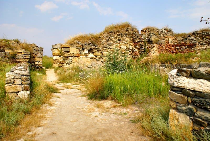 Download Histria, Ville Antique En Roumanie Image stock - Image du antiquité, fortification: 45350717