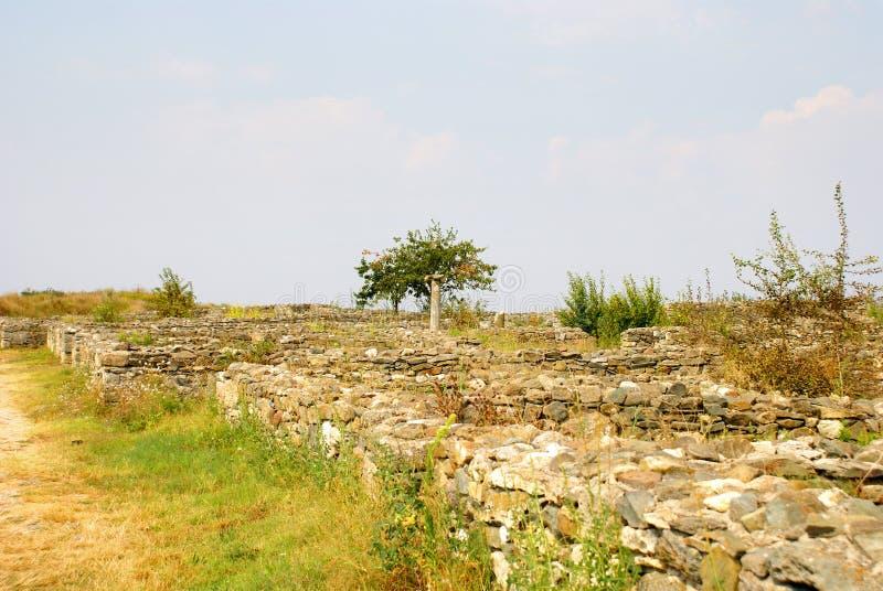 Download Histria, Ville Antique En Roumanie Photo stock - Image du ville, attraction: 45351822