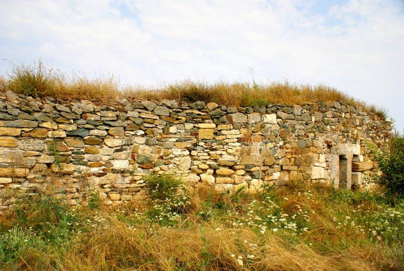 Download Histria, Ville Antique En Roumanie Photo stock - Image du musée, colons: 45351824