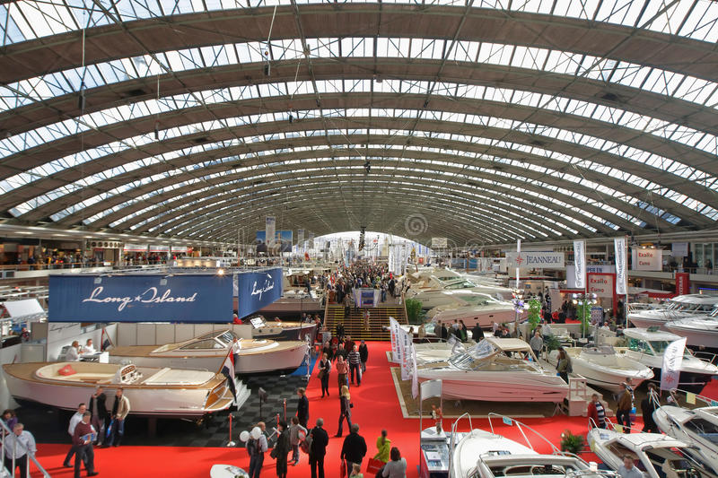 HISWA Amsterdam Boat Show stock images