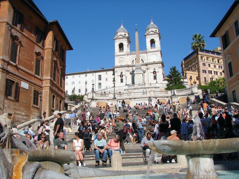 Hiszpańscy kroki zdjęcie stock