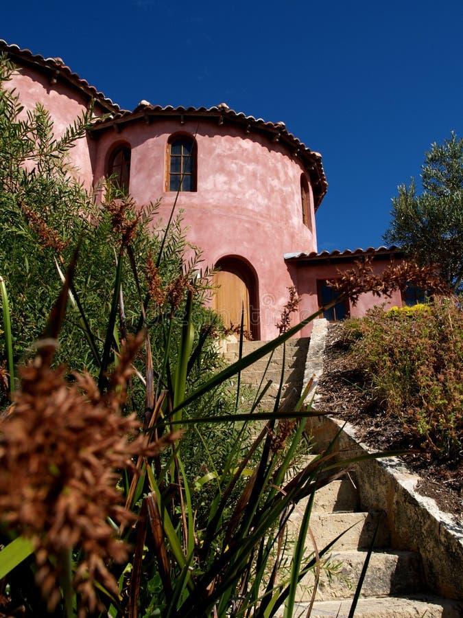 hiszpańscy schody do domu obrazy stock