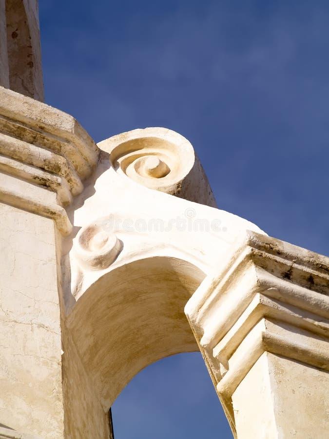 hiszpańska misja architektury zdjęcie royalty free