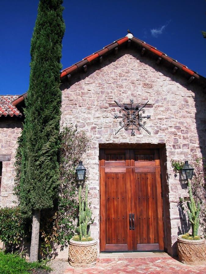 hiszpańska wejściowa w villa zdjęcie stock