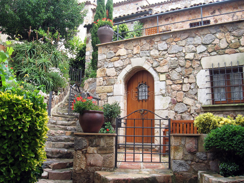 hiszpańska willa obraz stock